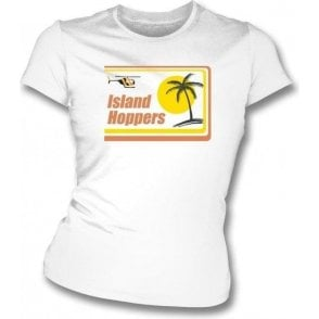 Island Hoppers (Inspired by Magnum, P.I.) Womens Slim Fit T-Shirt
