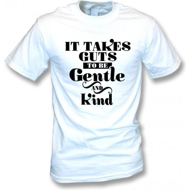 It Takes Guts To Be Gentle And Kind (As Worn By Morrissey, The Smiths) T-Shirt