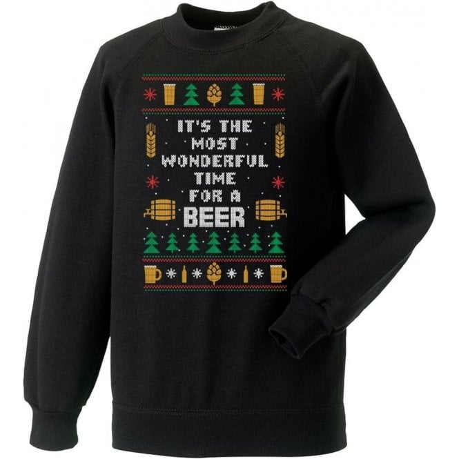 It's The Most Wonderful Time For A Beer Sweatshirt