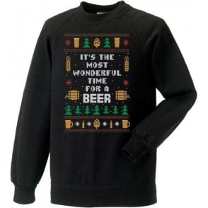 It's The Most Wonderful Time For A Beer Christmas Jumper