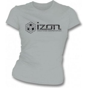 Izon Weapons Corporation (Cube2 Hypercube) Womens Slim Fit T-Shirt