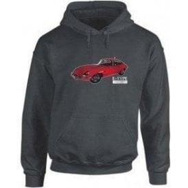 Jaguar E-Type Kids Hooded Sweatshirt