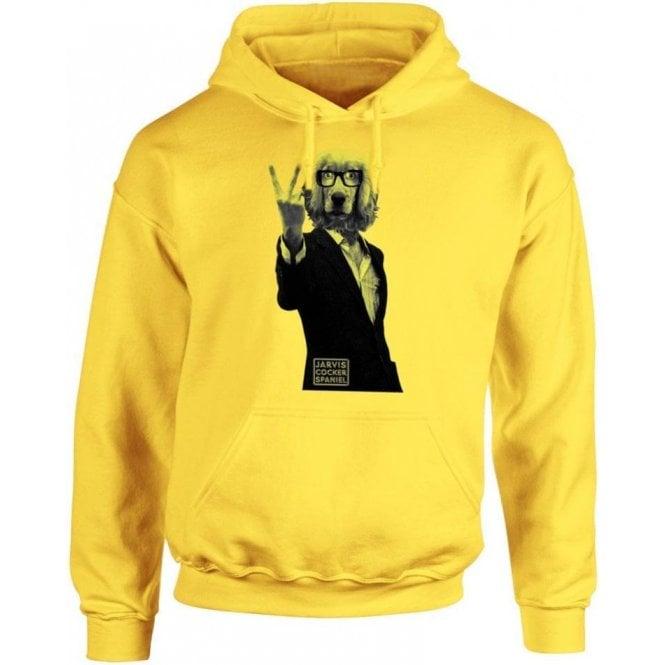 Jarvis Cocker Spaniel Hooded Sweatshirt