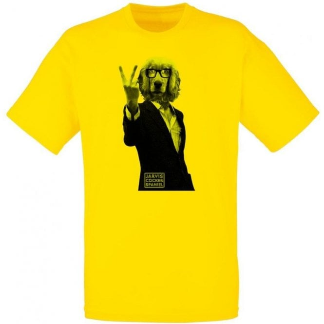 Jarvis Cocker Spaniel T-Shirt
