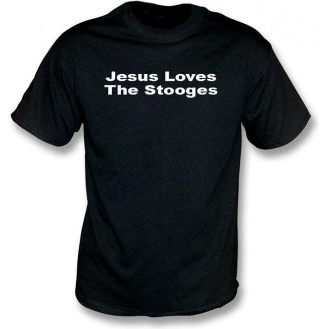 Jesus Loves Stooges T-shirt
