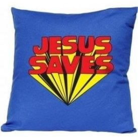 Jesus Saves (As Worn By Keith Moon, The Who) Cushion