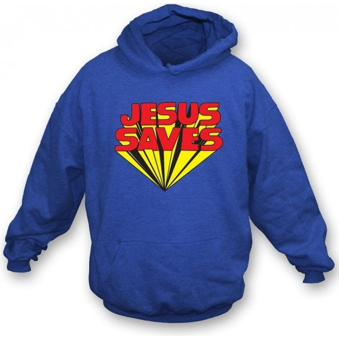 Jesus Saves (As Worn By Keith Moon, The Who) Hooded Sweatshirt
