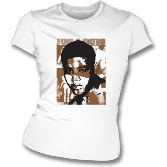 Joe Louis Champion (Boxing) Womens Slimfit T-Shirt