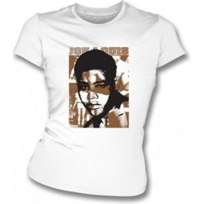 Joe Louis Champion (Boxing) Womens Slimfit T-Shirt
