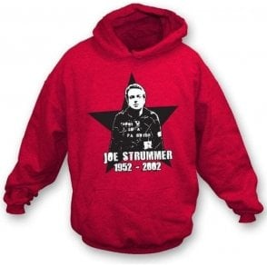 Joe Strummer Tribute Hooded Sweatshirt
