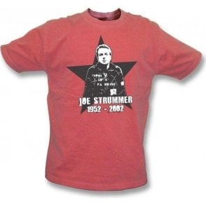 Joe Strummer Tribute Vintage Wash T-Shirt