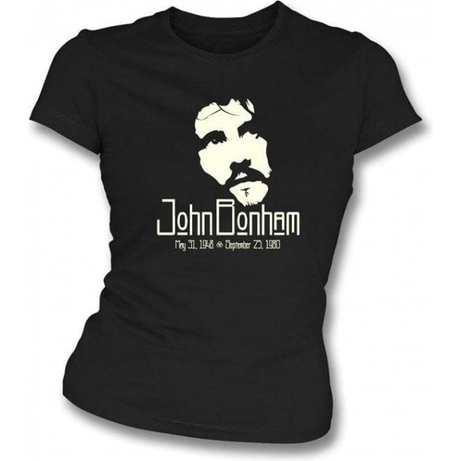 John Bonham (Led Zeppelin) Tribute Girls Slim-Fit T-shirt