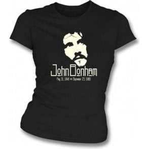 John Bonham (Led Zeppelin) Tribute Girls Slim-Fit T-shirt