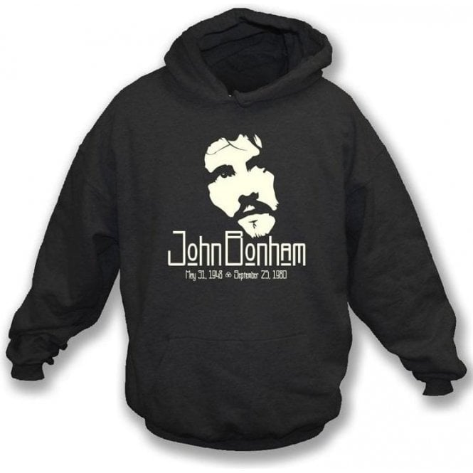 John Bonham (Led Zeppelin) Tribute Hooded Sweatshirt