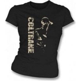 John Coltrane Photo Womens Slim Fit T-Shirt