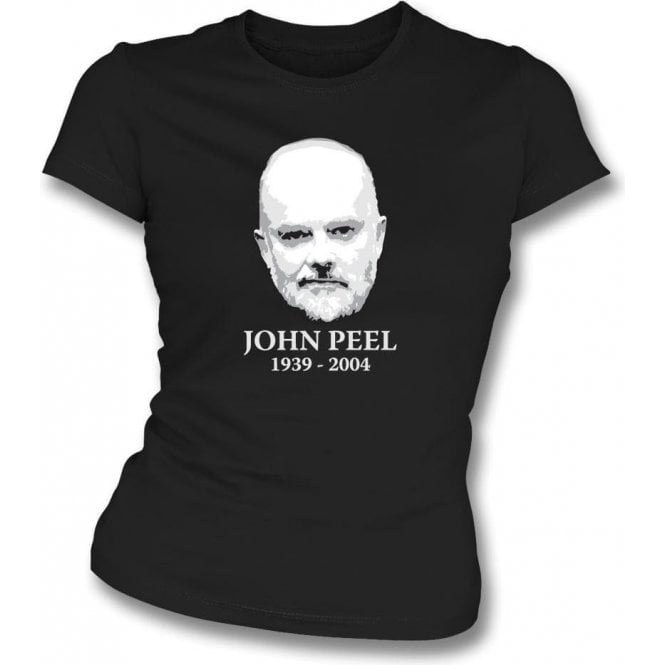 John Peel Tribute Womens Slim Fit T-Shirt