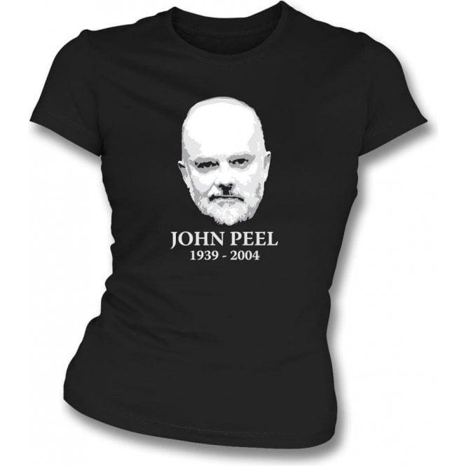 John Peel Tribute Womens Slim Fit T-Shirt