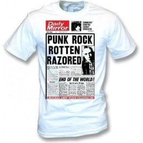 Johnny Rotten Razored T-shirt