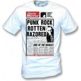 Johnny Rotten Razored T-shirt