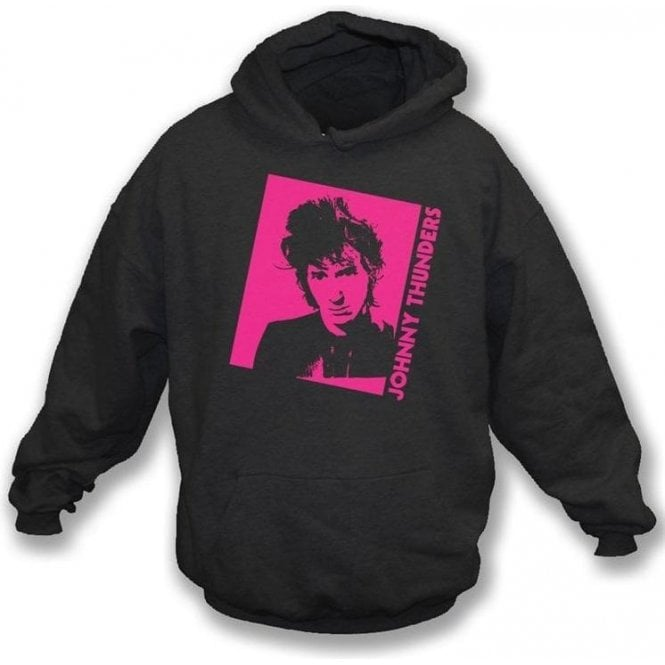 Johnny Thunders - Photo Hooded Sweatshirt