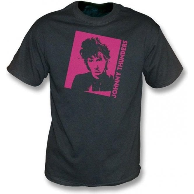 Johnny Thunders - Photo vintage wash T-shirt