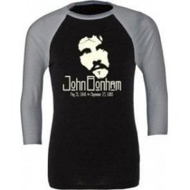 Jon Bonham (Led Zeppelin) Tribute 3/4 Sleeve Unisex Baseball Top
