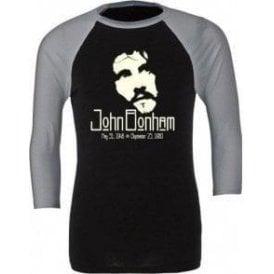 Jon Bonham (Led Zeppelin) Tribute 3/4 Sleeve Unisex Baseball Top