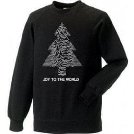 Joy To The World Kids Christmas Jumper