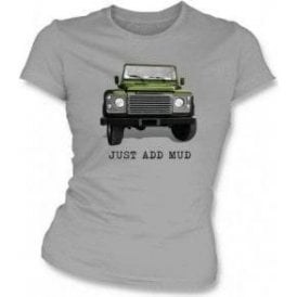 Just Add Mud Womens Slim Fit T-Shirt