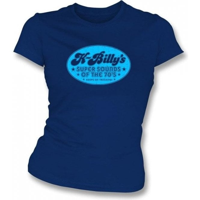 K Billy's Radio Station (Inspired by Reservoir Dogs) Girl's Slim-Fit T-shirt