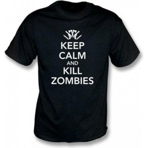 Keep Calm and Kill Zombies Children's T-shirt
