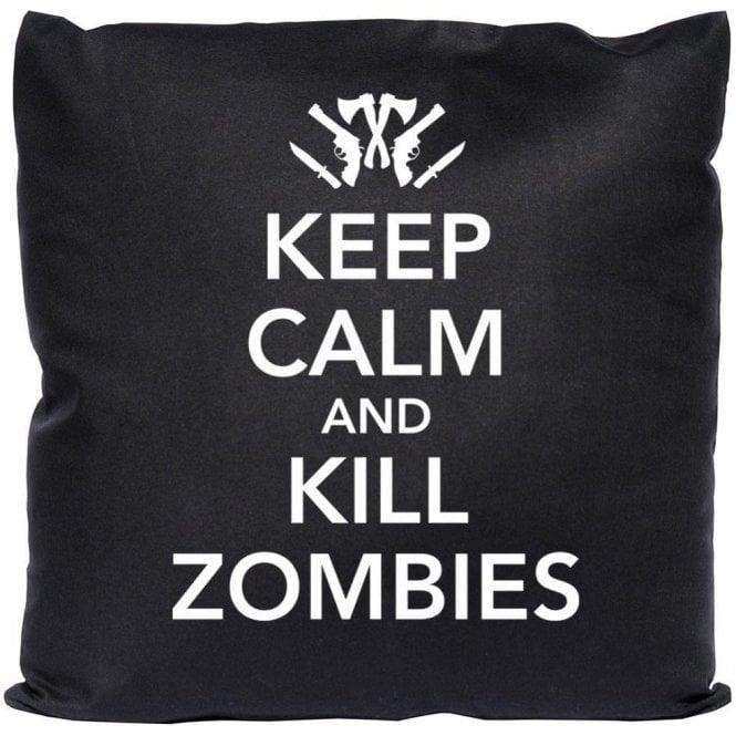 Keep Calm and Kill Zombies Cushion