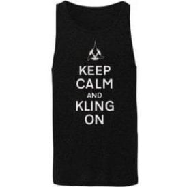 Keep Calm And Kling On Mens Tank Top