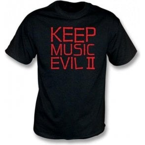 Keep Music Evil (As Worn By Joey Ramone, Ramones) T-Shirt