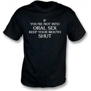 Keep Your Mouth Shut (As Worn By John Bonham, Led Zeppelin) T-Shirt