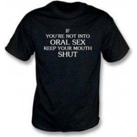 Keep Your Mouth Shut (As Worn By John Bonham, Led Zeppelin) T-Shirt