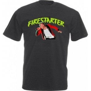 Keith Flint - Firestarter Vintage Wash T-Shirt