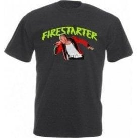 Keith Flint - Firestarter (The Prodigy) Vintage Wash T-Shirt