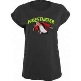 Keith Flint - Firestarter Womens Extended Shoulder T-Shirt
