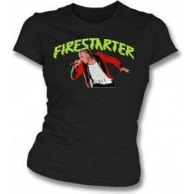 Keith Flint - Firestarter Womens Slim Fit T-Shirt