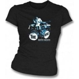 Keith Moon Girl's Slim-Fit T-shirt