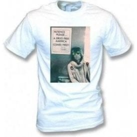 "Keith Richards ""A Drug Free America"" Photo T-shirt"