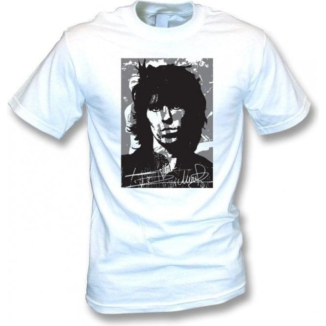 Keith Richards Collage T-shirt