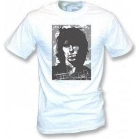 Keith Richards Collage Vintage Mens T-shirt