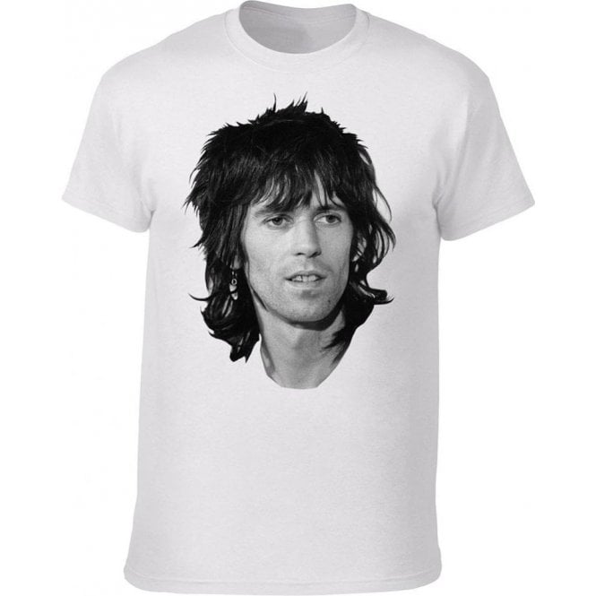 Keith Richards Face (As Worn By Patti Smith) T-Shirt
