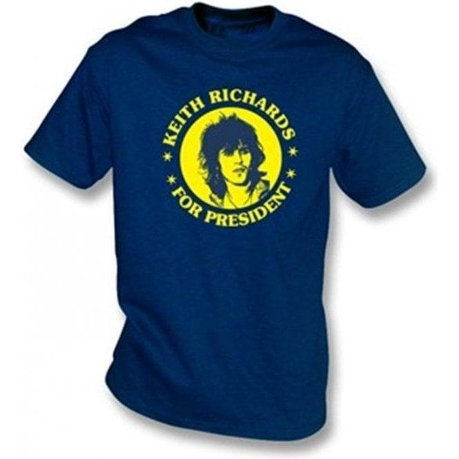 Keith Richards for President Children's T-shirt