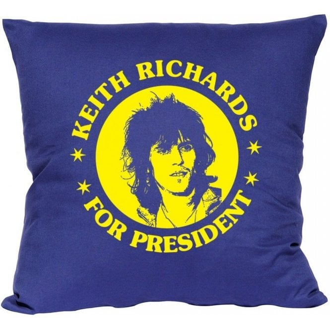 Keith Richards for President Cushion
