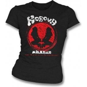 Korova Milk Bar (Inspired By A Clockwork Orange) Womens Slimfit T-shirt