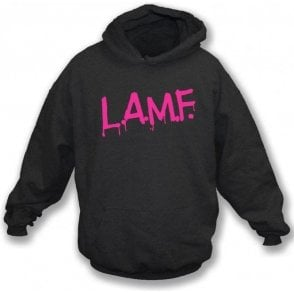L.A.M.F (As Worn By Johnny Thunders, The Heartbreakers & Debbie Harry, Blondie) Hooded Sweatshirt