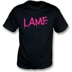 L.A.M.F (As Worn By Johnny Thunders, The Heartbreakers & Debbie Harry, Blondie) T-Shirt